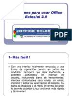10 Razones para usar Office Eclesial 2.0