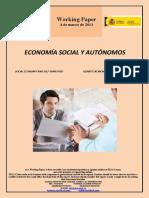 ECONOMÍA SOCIAL Y AUTONOMOS (Es) SOCIAL ECONOMY AND SELF-EMPLOYED (Es) GIZARTE EKONOMIA ETA AUTONOMOAK (Es)