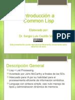 Intro Common Lisp 2012