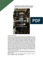"""20061021 La prison, nouvel asile des fous - """"Fresnes, histoires de fous"""" par Catherine Herszberg, Extraits parus dans Le Monde"""
