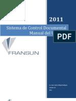 Manual Control Documental 1.0