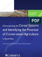 Characterizing the cereal systems and identifying the potential of conservation agriculture in South Asia