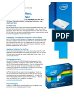 Intel SSD 335 Series Product Brief