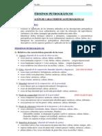Terminos Petrográficos