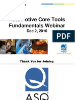 ASQ Auto Webinar Core Tools Slides 101203