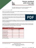 AFL - Revenue, spending & public‐sector wages