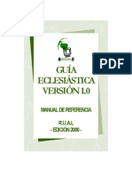 Guía Eclesiástica versión 1.0 - Manual de Referencia