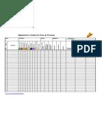 Mapeamento e Analise do Fluxo Processo-Modelo