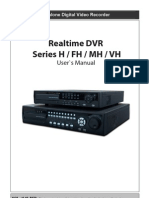 Dvr h Fh Mh Vh Series Manual
