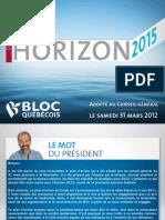 Party Bloc Quebecois Platform 2011