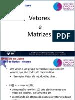 5 - Tipos de Dados - Array,Matriz