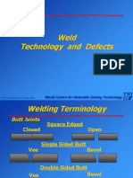 98707945 Weld Technology Defects
