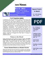 Mar News 2013
