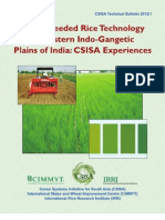 Direct seeded rice technology in Western indo-gangetic plains of India