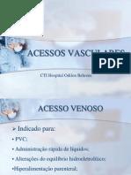 ACESSOS VASCULARES