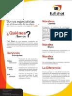 Brochure Informativo 2013
