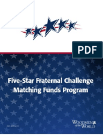 5 Star Fraternal Challenge Official