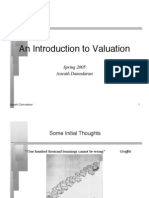 Approach for DCF and Multiple valuation