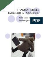 Traumatisme Osteo Articulare
