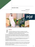 New Draft Company Law - Qatar