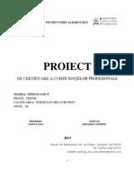 Actionari Hidraulice-proiect - Soitarau