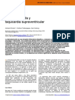 Dermatomiositis y taquicardia supraventricular
