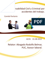 Responsabilidad Civil y Criminal Por Accidentes Del