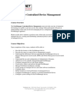 241 - FortiManager Centralized Device Management