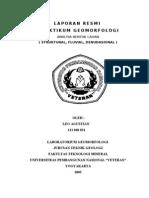 Analisa Bentuk Lahan Struktural Fluvial, Denudasional
