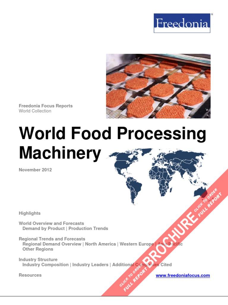 World Food Processing Machinery   Foods   Food \u0026 Wine