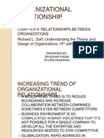 Organizational Relationships Chap4 Daft 10th Ed.