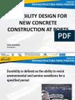 Puertos Seminario 6 Design for Durability of New Construction