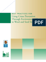Best Practices for Using Cpted in Weed and Seed Sites
