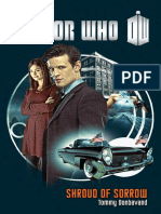 Doctor Who Shroud of Sorrow by Tommy Donbavand - Excerpt
