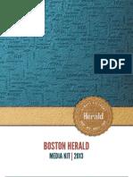 Boston Herald Mediakit 2013