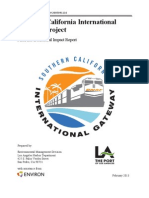 Southern California International Gateway Final Environmental Impact Report