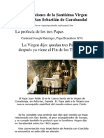 Los Papas en San Sebastian de Garabandal