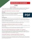 Health Insurance Exchange FAQ and Myth vs. Reality