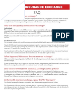 Health Insurance Exchange FAQ and Myth vs. Reality