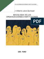 94852920 Sociologia de Las Organizaciones Para Imprimir