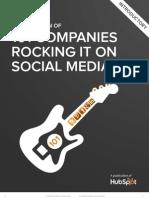 101 Companies Rocking Social Media