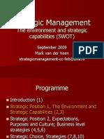 Strategic Management 2 2009 Full Time