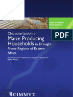 Characterization of maize producing households in drought prone Regions of Eastern Africa