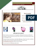 Newsletter - March 2013 Website