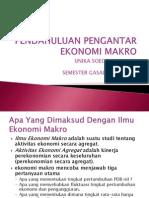 1 Pendahuluan Pengantar Ekonomi Makro