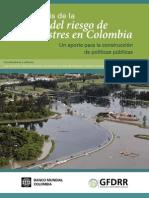 Analisis de La Gestion Del Riesgo en Colombia