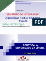 fon+®tica lingua inglesa=uniube