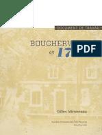 Boucherville en 1724