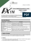 FX1N-232-BD - User's Guide JY992D84401-D (10.10)
