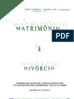 Matrimônio e Divórcio (Centro Espírita Nosso Lar)